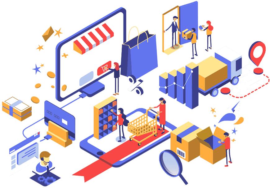 banner markethax ecommerce