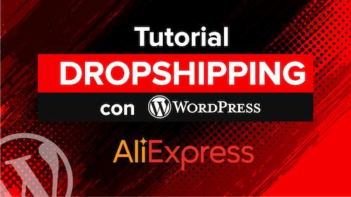 curso dropshipping con wordpress