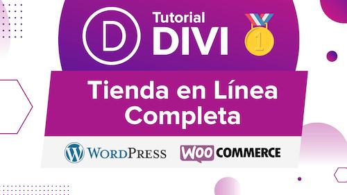 curso divi tienda en linea wordpress