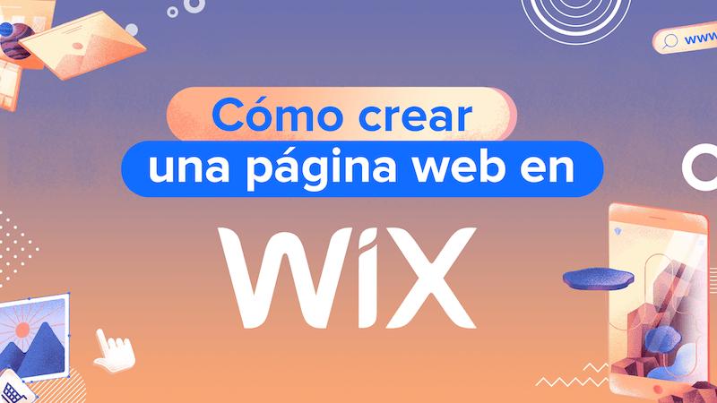 como crear una pagina web en wix